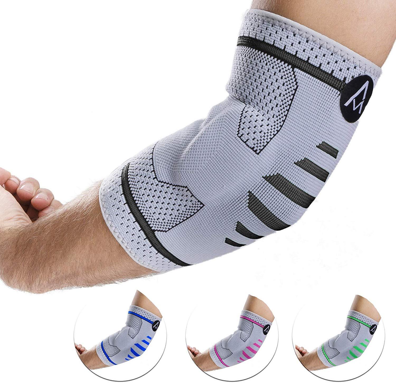 Bandage mit Kompression gegen den Tennisarm