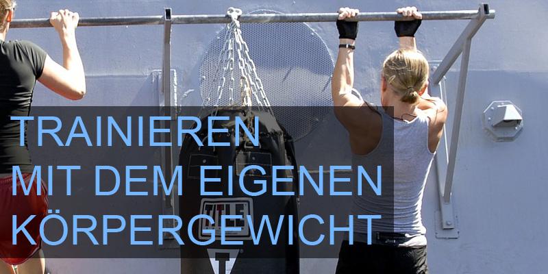 Vorteile und Nachteile für das Training mit dem eigenen Körpergewicht